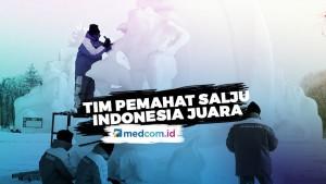 Tim Pemahat Salju Indonesia Juara