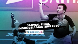 Jadwal Empat Wakil Indonesia di Final Indonesia Masters 2020
