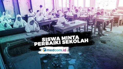 Viral! Siswa SDN Samudrajaya 04 Bekasi Minta Perbaiki Sekolah