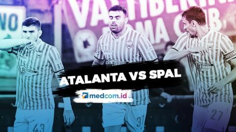 Atalanta Vs SPAL Skor Akhir 1-2