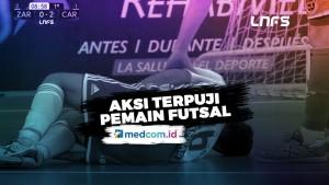 Aksi Terpuji Pemain Futsal Ini, Respect!