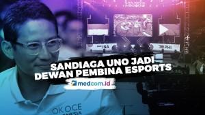 Sandiaga Uno Dilantik Sebagai Dewan Pembina Esports