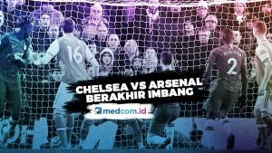Chelsea Vs Arsenal Berakhir 2-2