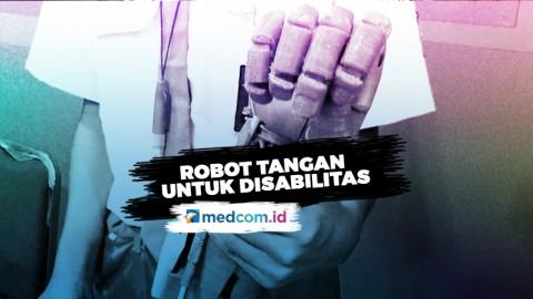 Siswa SMK Ciptakan Robot Tangan Disabilitas