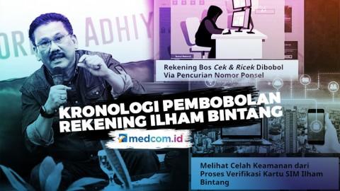 Highlight Prime Talk  - Kronologi Kasus Pembobolan Rekening dari Pembajakan Simcard Ilham Bintang