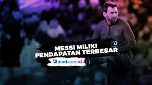 Lionel Messi Berpenghasilan Terbesar Versi Forbes