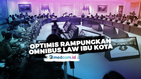 Highlight Primetime News - Optimistis Rampungkan Omnibus Law Ibu Kota