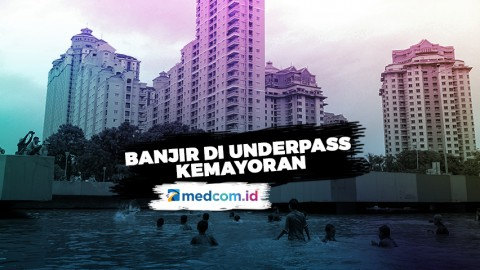 Highlight Primetime News - Banjir di Underpass Kemayoran