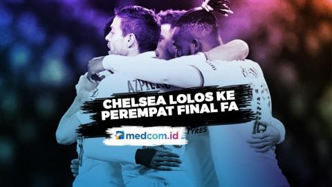 Kalahkan Hull City, Chelsea Lolos ke Perempat Final Piala FA
