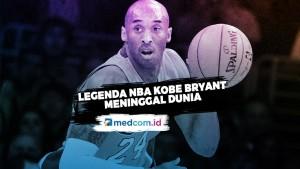 Legenda NBA Kobe Bryant Meniggal Dunia