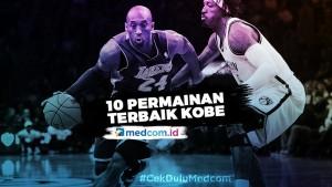 10 Permainan Terbaik Kobe Bryant