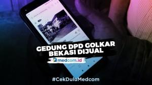 Heboh, Iklan Gedung DPD Golkar Bekasi Dijual Rp46 M