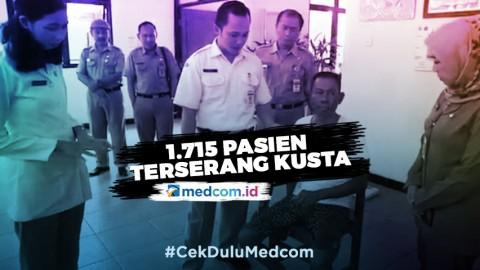 RS Kusta Donorojo Rawat 1.715 Pasien Kusta