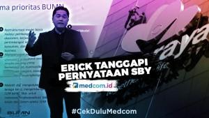 Erick Thohir Tanggapi Pernyataan SBY Soal Kasus Jiwasraya