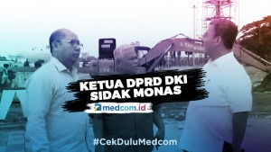 Ketua DPRD DKI Temukan Kejanggalan Proyek Revitalisasi Monas