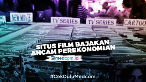 Situs Film Bajakan Ancam Ekonomi Indonesia
