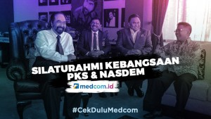 Silaturahmi Kebangsaan PKS dan Nasdem