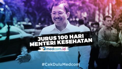 Jurus 100 Hari Menteri Kesehatan
