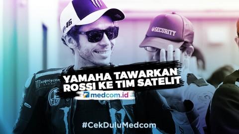Yamaha Tawarkan Rossi ke Tim Satelit