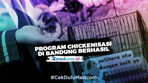 Program Chickenisasi pada Pelajar di Bandung Berhasil