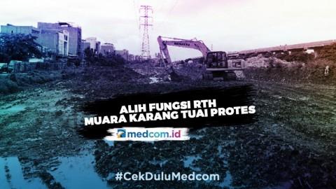 Alih Fungsi RTH Muara Karang Tuai Protes