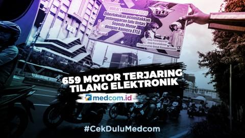 Selama Empat Hari, 659 Motor Terjaring Tilang Elektronik