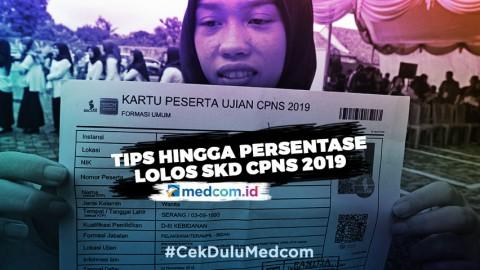 Tips hingga Persentase Lolos SKD CPNS 2019