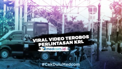 Viral Video Terobos Perlintasan KRL, Ini yang Sebenarnya Terjadi