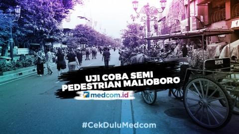 Uji Coba Semi Pedestrian Malioboro