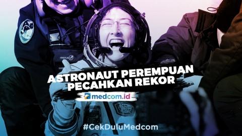 Christina Koch Astronaut Perempuan Pecahkan Rekor Baru