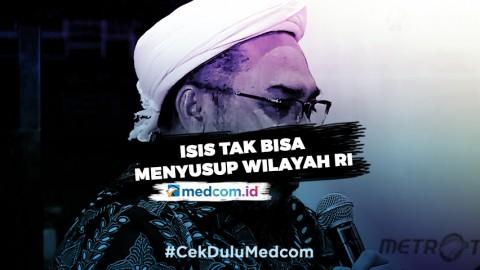 Ngabalin: Per Hari ini, ISIS Tak Bisa Menyusup Wilayah RI