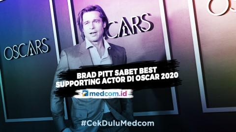 Sabet Gelar Best Supporting Actor, Ini Kata Brad Pitt
