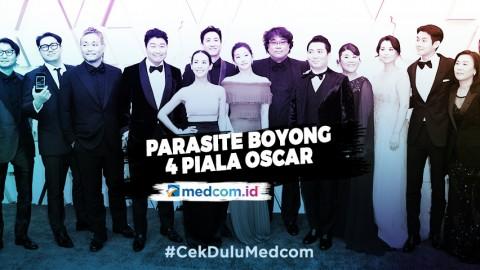 Sejarah Baru Film Asia, Parasite Boyong 4 Piala Oscar
