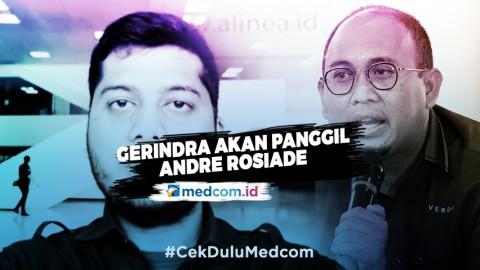 Gerindra akan Panggil Andre Rosiade Soal Grebek PSK di Padang