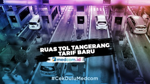 Ruas Tol Tangerang Berlakukan Tarif Baru