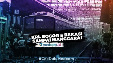 Jadwal KRL Bogor dan Bekasi Cuma Sampai Manggarai