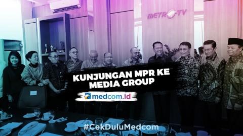 Pimpinan MPR Lakukan Kunjungan ke Media Group