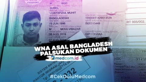 WNA Asal Bangladesh Terancam Lima Tahun Penjara