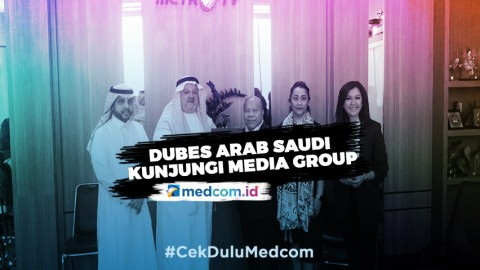 Dubes Arab Saudi Kunjungi Media Group