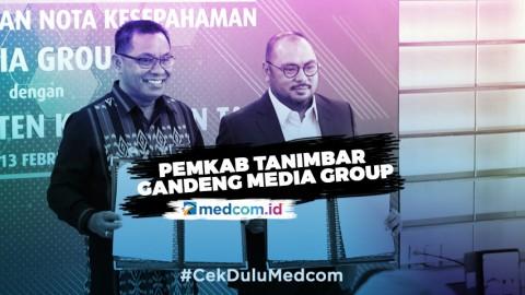 Pemkab Kepulauan Tanimbar Jalin Kerjasama Dengan Media Group