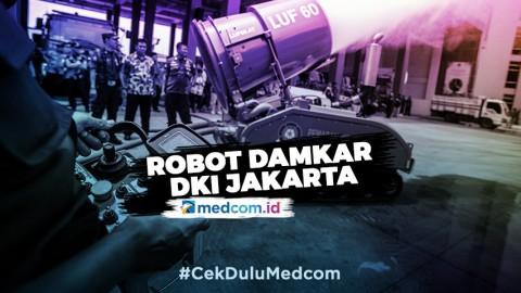 Robot Damkar DKI Jakarta dari Australia & Kroasia