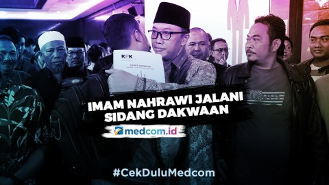 Imam Nahrawi Jalani Sidang Dakwaan