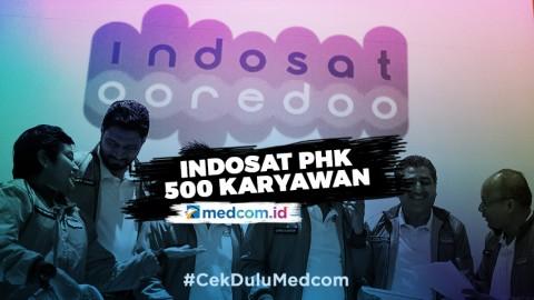 500 Karyawan Indosat Di-PHK