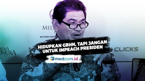 Prof. Juanda: Hidupkan GBHN, Tapi Jangan untuk Impeach Presiden