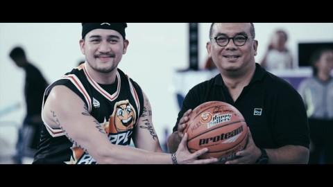 Jelang PON 2020, Klub Basket Selebriti Jajal Mimika Sport Complex
