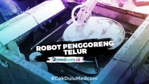 Ingin Bantu Orang Tua, Pemuda Ini Ciptakan Robot Penggoreng Telur