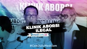 100 Calo Bantu Promosikan Klinik Aborsi Ilegal