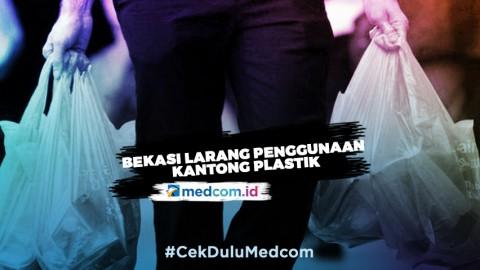 Mulai Maret Bekasi Larang Penggunaan Kantong Plastik