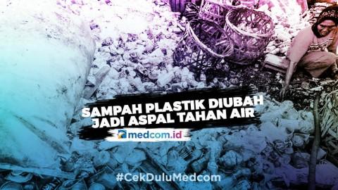 Sampah Plastik Diubah Jadi Aspal Tahan Air