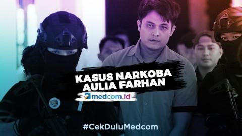 Kasus Narkoba Jerat Artis Aulia Farhan